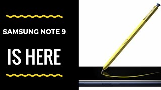 Samsung Galaxy Note 9 impression: Underrated