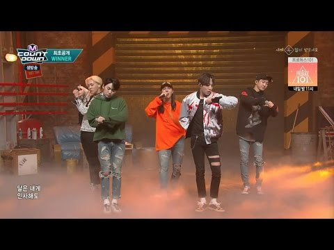 WINNER - '센치해(SENTIMENTAL)' 0204 M COUNTDOWN