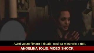 """Angelina Jolie e il video shock: """"Ho aderito a una setta satanica"""""""