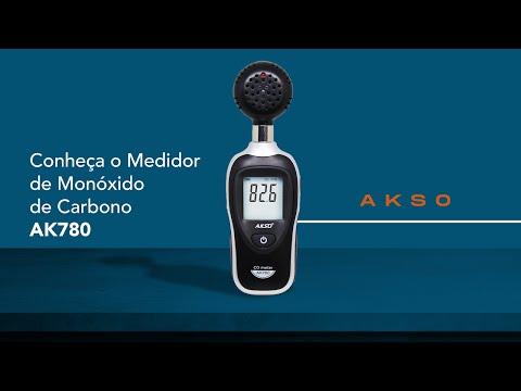 Conheça o Medidor de Monóxido de Carbono AK780