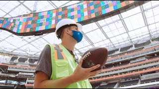 """""""This is AMAZING!"""" Jared Goff is Awestruck by SoFi Stadium 