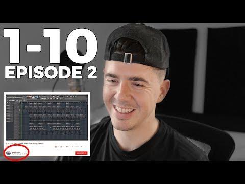 Rating My Subscribers Beats/Songs 1-10! (1-10 Challenge EP 2)