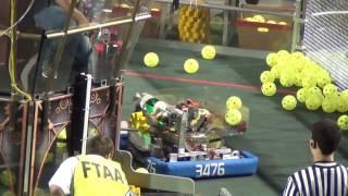 FRC 2017 Orange County Regional Qual Match 61 FIRST Robotics
