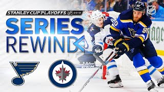 SERIES REWIND: Blues ground Jets in six games