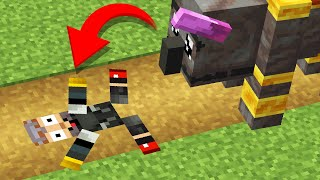 Minecraft mobs if they were a little too attracted to you