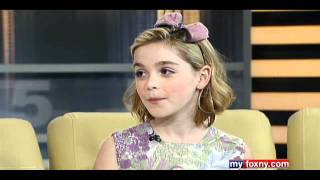 Kiernan Shipka on Good Day New York