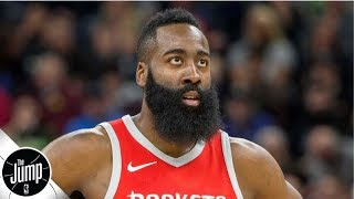 James Harden gets trolled by LA Galaxy after buying stake in MLS team   The Jump