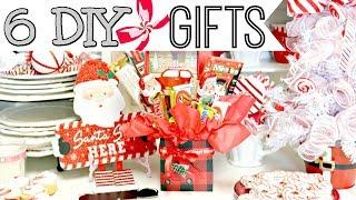 "🎄6 DIY DOLLAR TREE CHRISTMAS GIFT IDEAS 2019🎄""I Love Christmas"" ep25 Olivia's Romantic Home DIY"