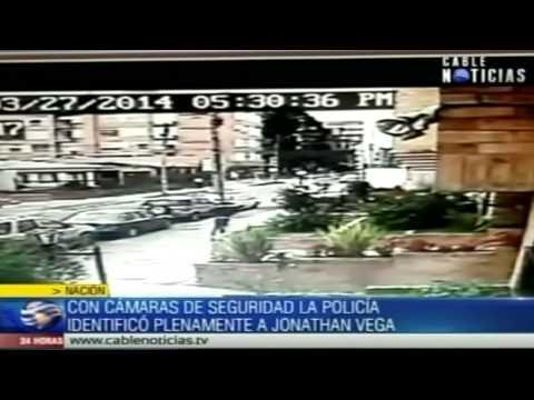 Cámaras de seguridad dieron con la captura de Jonathan Vega