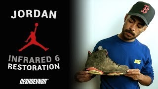 Can Vick Almighty Restore These 2014 Jordan 6 Infrareds With Reshoevn8r?