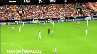 ملخص لمسات النجم محمد صلاح مع روما فى مباراة فالنسيا و روما     -
