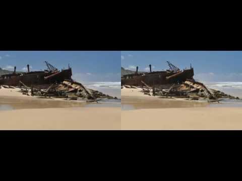 Fraser Island 3D for Google Cardboard, 1080p, SBS-full width