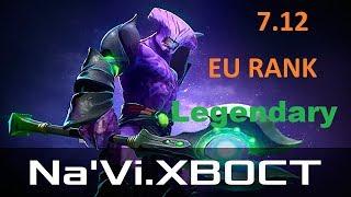 Navi.XBOCT [Faceless Void] Legendary Carry Rank match 7.12 Dota2