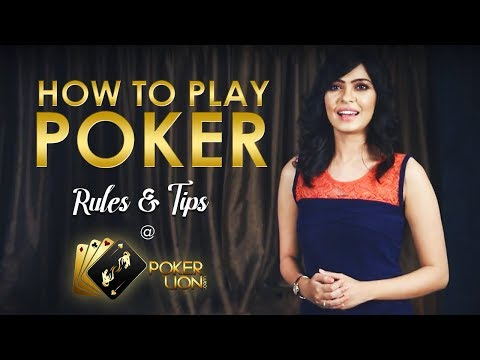 Learn How To Play poker With PokerLion.com