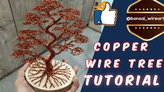 Bonsai wire tree Tutorial