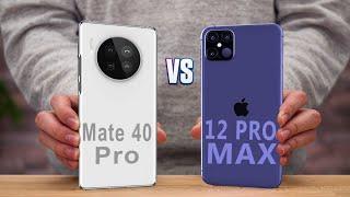 Huawei Mate 40 Pro vs iPhone 12 Pro Max Comparison (Leaks)