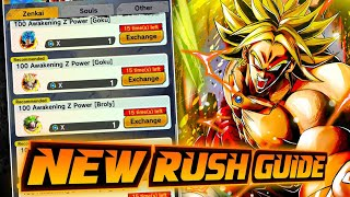100% COMPLETE GUIDE - HOW TO BEAT THE NEW ZENKAI RUSH AND HOW TO USE YOUR MEDALS WISELY (DB Legends)