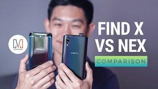 OPPO Find X vs Vivo NEX Comparison