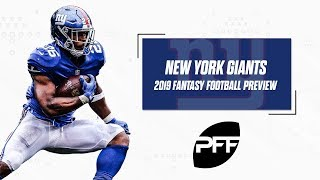 New York Giants 2019 Fantasy Football Preview | PFF