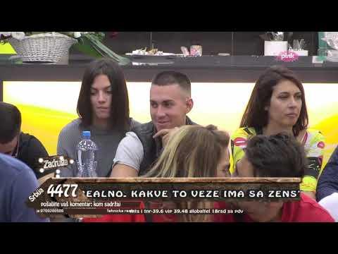 Zadruga 3 - Mina progovorila o karmi nakon što se Vladimir distancirao - 21.10.2019.