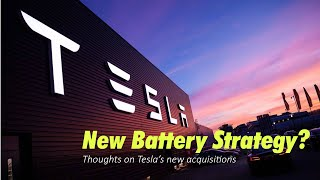 Tesla's new Battery Strategy, explained.