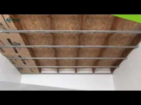 pose placo faire un faux plafond avec placo baticotravaux youtube. Black Bedroom Furniture Sets. Home Design Ideas