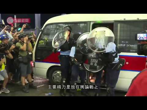 環時記者付國豪被打內地群情洶湧 官媒形容被打記者付國豪為真漢子、英雄 喊出14億人心聲 - 有線中國組 - 有線新聞 i-CABLE News