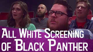 All White Screening of Black Panther | Marvel Sketch Comedy
