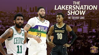 The Lakers Nation Show: Latest on Free Agency, Trade Rumors, and The Draft w/ Trevor Lane
