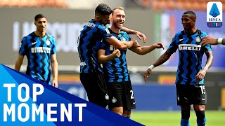 Eriksen scores 2-0 free kick for the Champions | Inter 5-1 Udinese | Top Moment | Serie A TIM