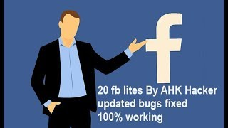 how to download 20 fb lites by AHK