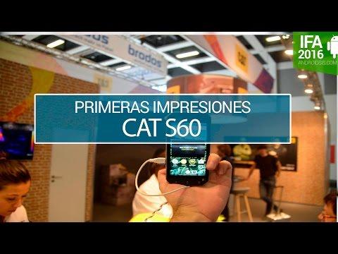 Cat S60, probamos el primer smartphone con cámara térmica