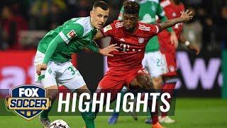 Werder Bremen vs. Bayern Munich | 2018-19 Bundesliga Highlights