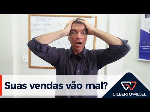Gilberto Wiesel - O que fazer se suas vendas vão mal