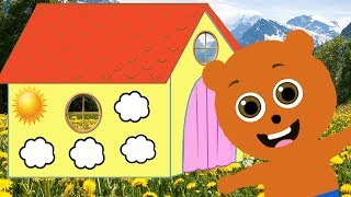 Mega Gummy bear Children's House Cartoon Animation Nursery Rhymes