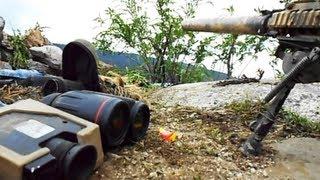 Finskytte holdt nede af kraftig Taliban ild