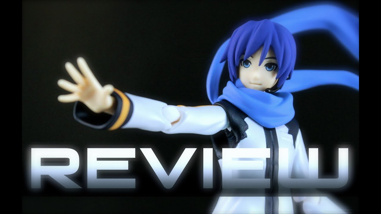 figma 192 Vocaloid KAITO Review フィグマ カイト - YouTube