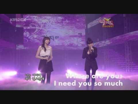 Davichi - Don't Go Don't Go Live [Eng. Sub]
