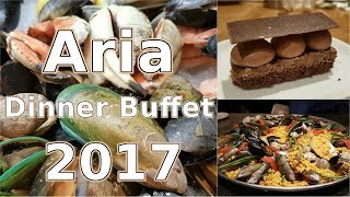 Aria (Las Vegas) - Dinner Buffet Tour (2017)