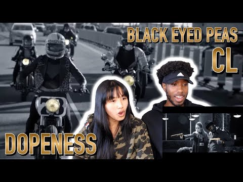 BLASIAN COUPLE REACTS TO THE BLACK EYED PEAS - DOPENESS FT. CL | MUSIC VIDEO REACTION