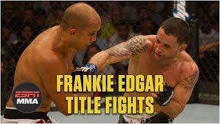 Frankie Edgar's history in UFC title fights | ESPN MMA