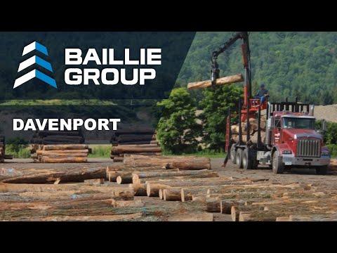 Baillie Lumber's Davenport New York Sawmill