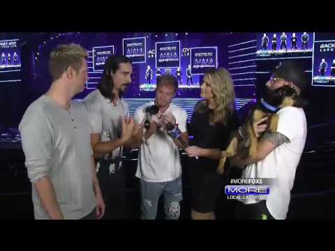 BSB and Puppies Interview   More Las Vegas