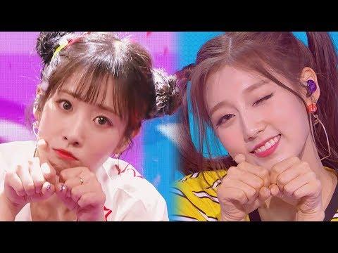 [교차편집 | Stage Mix] 러블리즈 (Lovelyz) - 미묘미묘해 (Mi-myo Mi-myo)