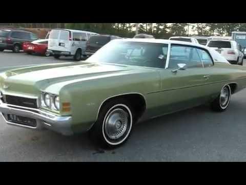 1972 Chevrolet Impala Dallas GA 30157 - YouTube