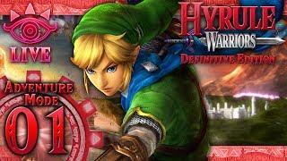Hyrule Warriors: Definitive Edition - Adventure Mode - Part 1 (LIVE)