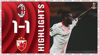 Highlights | AC Milan 1-1 Crvena zvezda | Europa League Round of 32 return leg