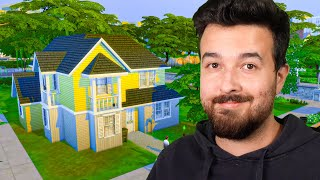 Starter Home under $34,000 for 8 Sims (Sims 4)