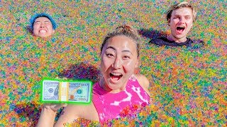 LAST TO LEAVE THE ORBEEZ POOL WINS $10,000