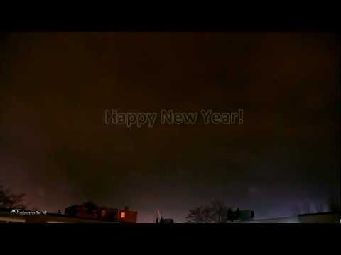 Happy New Year - Time-lapse fireworks
